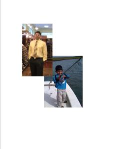 Sean Marietta - Residential Esimating, and his son, future pro fisherman.