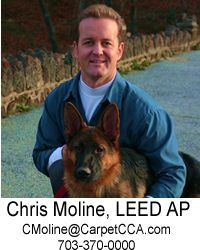 picture of chris moline, leed ap, green flooring expert in northern virginia and the dc metro area