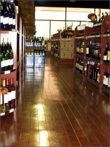 Roppe Wood Naturals Takoma Cherry luxury solid vinyl tile.
