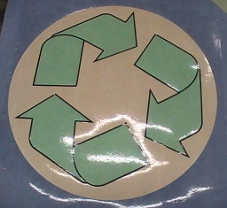 Water Jet Cut linoleum for a Texas end-user. We can do this for your commercial application as well.