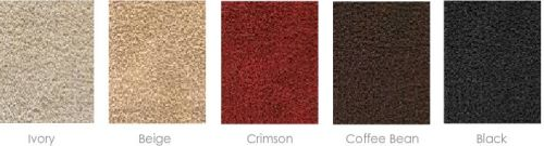 bamboo rug colors
