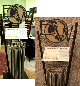 undyed natural wool latex hemp carpet dc va md northern virginia nova leed credit no voc