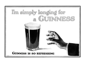 guinness beer ad