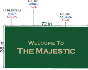 environmentally friendly eco mats entry mats